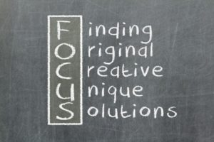 16631401 - focus acronym for finding, original, creative, unique, solutions